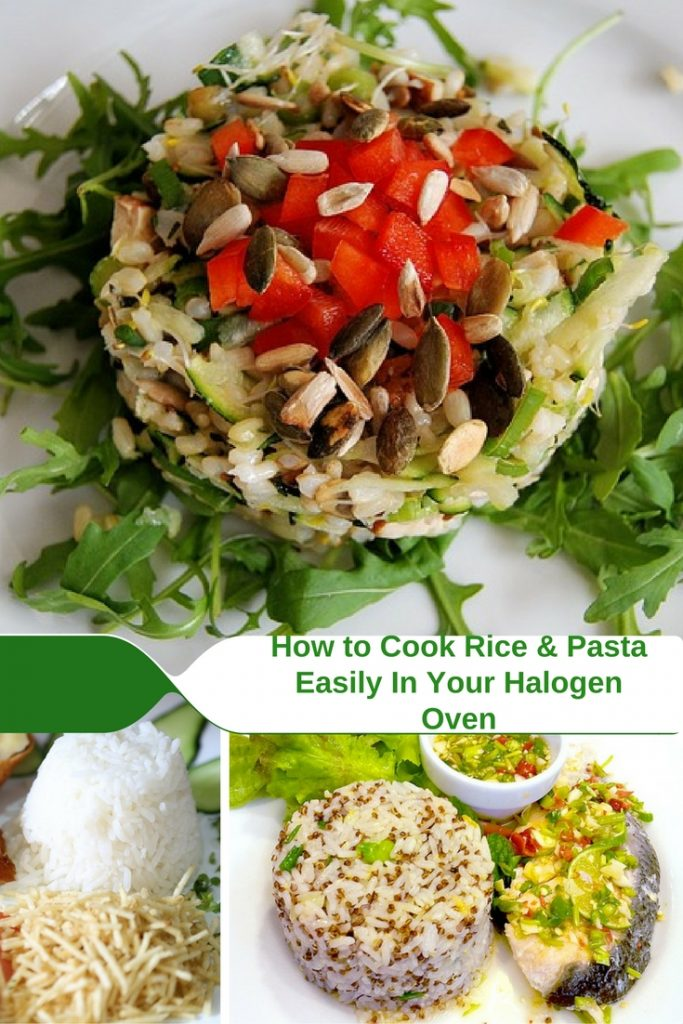 How to Cook Rice & Pasta in a Halogen Oven