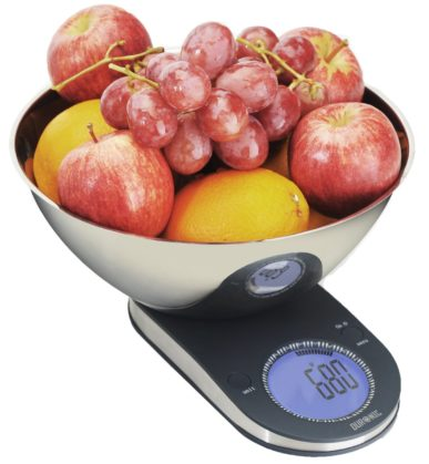 The Duronic Large Display Digital Kitchen Scales For Easy Use