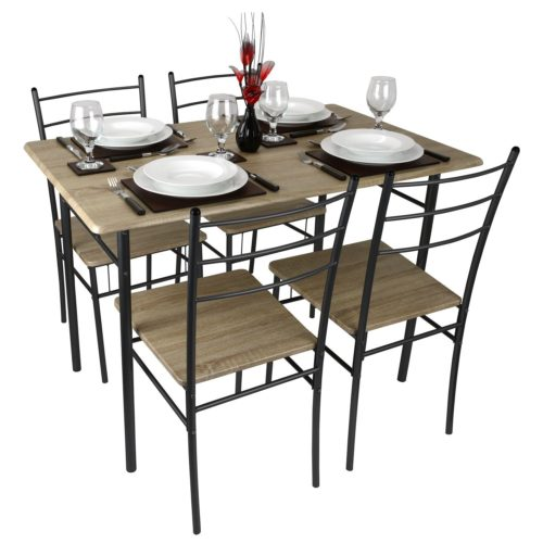 Quality rectangular kitchen tables for small spaces for Rectangular dining tables for small spaces