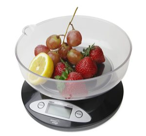 Smart Weigh Bowl Digital Kitchen Scales