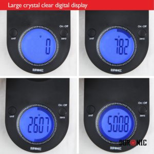 large clear Digital Display