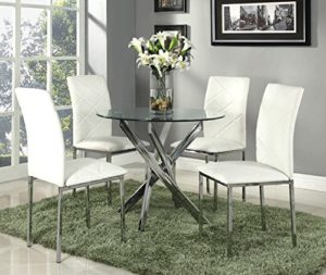 Quality Round Kitchen Table Sets For 4 People