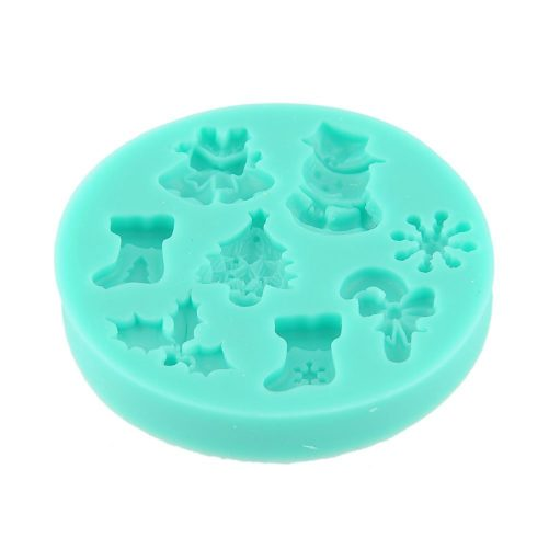 Silicone Fairy Christmas chocolate moulds