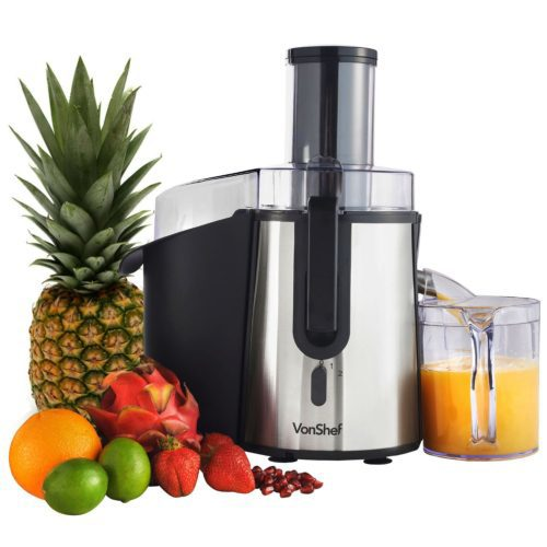 The Vonshef Whole Fruit Juicer for Quick Easy Juicing