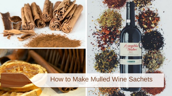 how to make mulled wine sachets