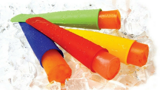 Use Fun Silicone Ice Pop Moulds For Tasty Ice Lollies