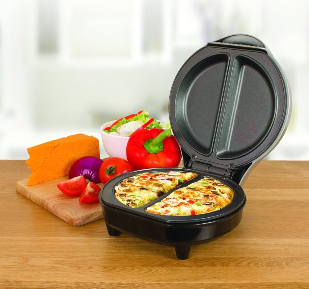 use an electric omelette maker to make perfect omelettes. Black Bedroom Furniture Sets. Home Design Ideas