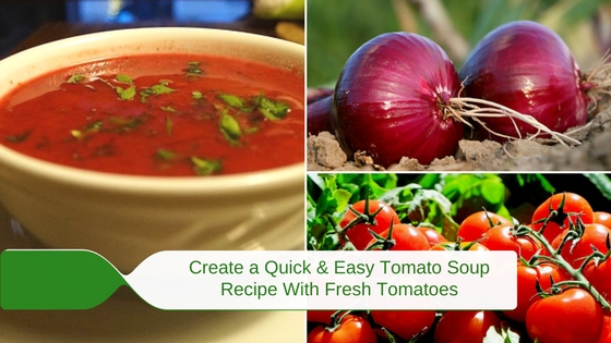 A Quick and Easy Tomato Soup Recipe with Fresh Tomatoes