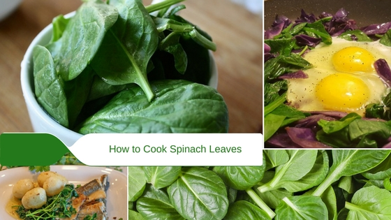How to Cook Spinach Leaves by Steaming, Microwave or Sautéing
