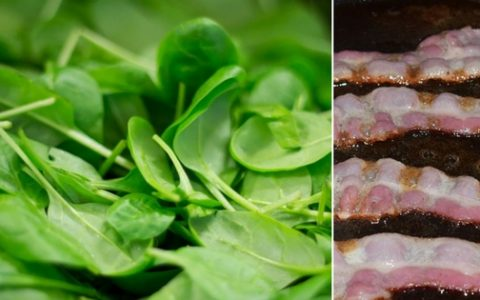 How to Cook This Easy Sauteed Spinach with Bacon Recipe