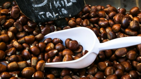 How to Roast Sweet Chestnuts