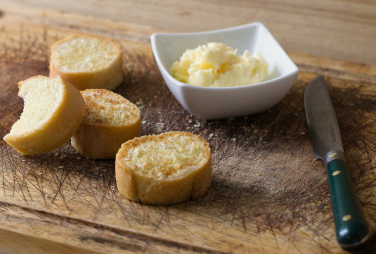 How to Make Your Own Easy Homemade Garlic Butter