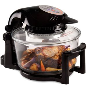 Andrew James 12 Litre Black 1400W Digital Halogen Oven