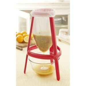 Jam & Jelly Strainer Stand & Muslin Bag