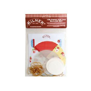 Jam Jar Sealing Set Lids & Labels